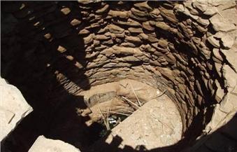 تطهير 100 بئر روماني للاستفادة من مياه الأمطار جنوب سيدي براني في مطروح