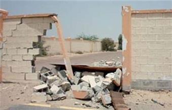 مصرع  طفل وإصابة ٤ آخرين إثر سقوط سور عليهم جنوب غرب الأقصر