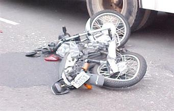 مصرع شخصين أثناء قيادتهما لدراجة بخارية بدمياط