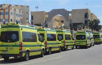 """مصادر طبية: الدفع بـ 30 سيارة إسعاف لنقل 75 مصابًا في """"انفجار مسجد الروضة"""""""