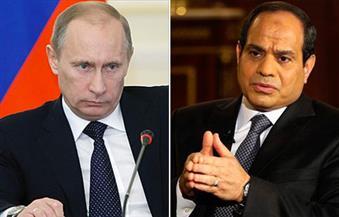 السيسي يتصل ببوتين ويقدم التعزية في مقتل السفير الروسي ويؤكد تضامن مصر مع روسيا