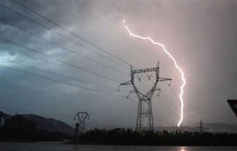 أمطار رعدية وطقس سيئ يضرب الإسكندرية