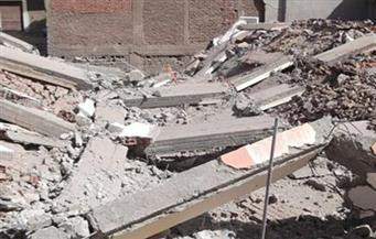 إصابة شابين وفتاة إثر انهيار عقار قديم في بورسعيد