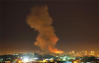 طائرات الاحتلال الإسرائيلي تشن 3 غارات على مدينة غزة