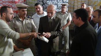 تحرير 21 قضية اتجار غير مشروع بالسلع التموينية خلال يومين