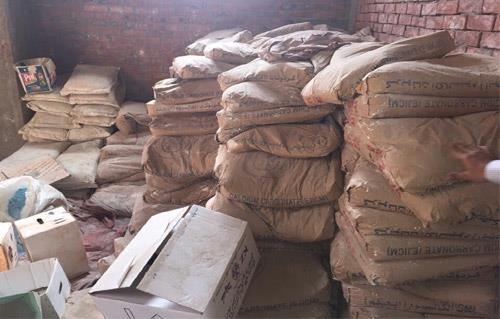القبض على مالك مصنع بحوزته  طن مخصبات زراعية مجهولة المصدر بكفر الشيخ
