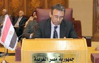 سفير مصر في لندن يلتقي وزير الدولة البريطاني لشئون الشرق الأوسط