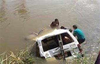 مصرع وإصابة 12 شخصا فى حادث انقلاب سيارة داخل ترعة في سوهاج