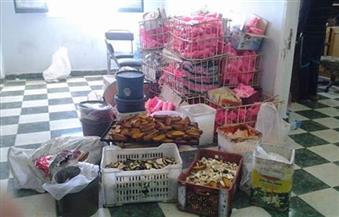 إعدام 384 كيلو حلوى المولد النبوي غير صالحة للاستهلاك في كفر الشيخ