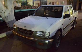 ضبط سيارتي نقل بدون لوحات وأوراق تسيير أثناء فترة الحظر بطريق القاهرة/السويس