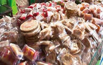 مصادرة 800 كيلو حمص و950 عبوة حلوى فاسدة قبل بيعها خلال مولد البدوي بطنطا
