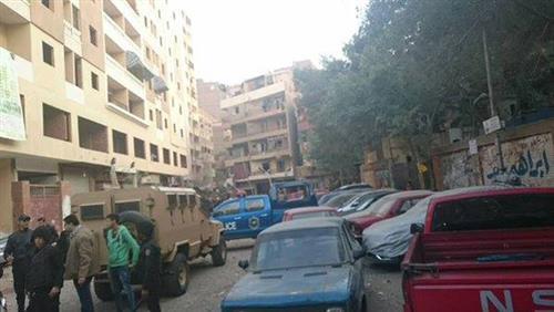 مدير أمن الجيزة وفاة سيدة وإصابة  شخصاً فى انفجار فيصل
