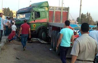 مصرع وإصابة 6 مواطنين في حادث تصادم بسوهاج