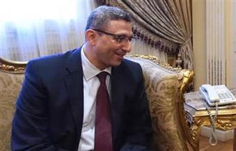 أمين عام مجلس النواب يستقبل سفير الصين بالقاهرة