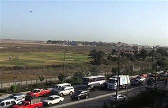 فتح طريق (القاهرة - الإسكندرية الزراعى) بعد توقف ساعتين بسبب انقلاب سيارة نقل ببنها