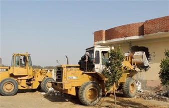 إزالة 20 حالة تعدٍ على نهر النيل بسوهاج