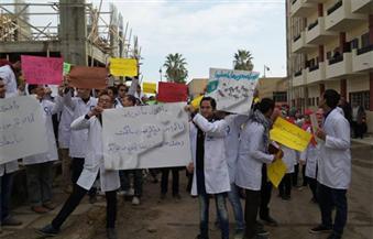 إضراب-طلاب-طب-أسنان-دمنهور-بسبب-نقص-الإمكانات