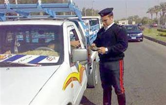 ضبط 512 مخالفة مرورية وتنفيذ 335 حكمًا قضائيًا بأسوان