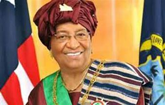 """رئيسة ليبيريا السابقة سيرليف أول امرأة في العالم تفوز بجائزة """"الإنجاز في القيادة"""""""