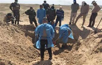 العثورعلى مقبرة جماعية تضم رفات مئات المعتقلين في سجن بادوش قرب الموصل