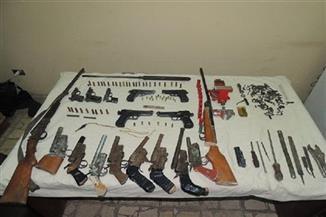 ضبط--قطعة-سلاح-بدون-ترخيص-وتنفيذ--حكمًا-قضائيًا-في-حملة-أمنية-بسوهاج