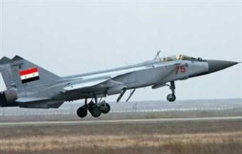 """""""سانا"""": الطيران السوري يكثف طلعاته الجوية على محاور داعش في دير الزور"""