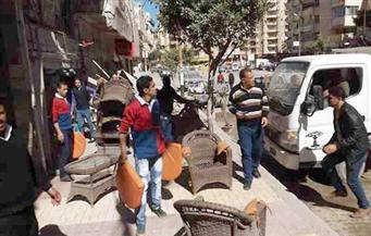 """حى الخليفة يُشن حملة على بائعى الحيوانات الضارة فى شارع سوق الحمام.. ويرفع إشغالات من ميدان """"السيدة عائشة"""""""