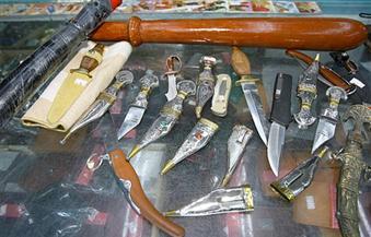 الأجهزة الأمنية تنجح في ضبط 202 قطعة سلاح أبيض