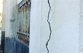 تصدع 4 منازل في كفر الزيات بالغربية بسبب انفجار ماسورة مياه