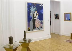 """45 فنانا تشكيليّا فى المعرض المصرى السعودى """"2030"""" بجاليري لمسات.. الإثنين"""