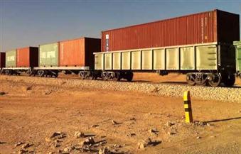 النقل: وصول أول قطار بضائع إلى المنطقة الصناعية بحلوان.. ورحلتان أسبوعيًا لنقل الحاويات من دمياط