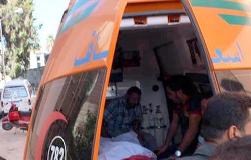 مصرع أم ونجلها اصطدمت بهما سيارة على الطريق الصحراوي بالإسكندرية