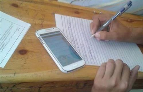 ضبط 139 محاولة غش بلجان امتحانات كليات جامعة كفرالشيخ -