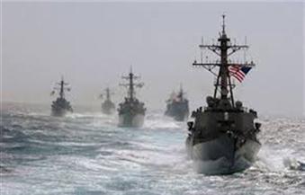 مناوشات بين سفن أمريكية وزوارق إيرانية في الخليج