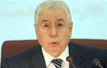 الرئيس الجزائري المؤقت يتعهد باستحداث هيئة وطنية لتنظيم الانتخابات الرئاسية المقبلة