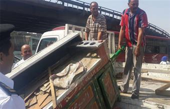 نقل إشغالات ميدان السيدة عائشة لسوق عرب يسار في الخليفة تمهيدا للتطوير