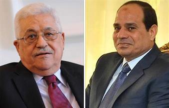 الرئيس السيسي يتلقى اتصالا من أبو مازن للتهنئة بحلول شهر رمضان