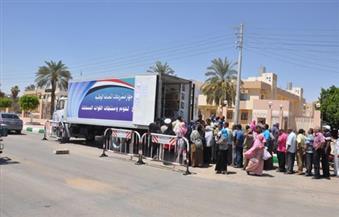"""""""السجون"""" توفر منافذ بيع متنقلة لمنتجاتها بمنطقة الأميرية بالقاهرة"""