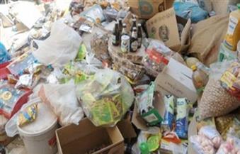 ضبط كميات من المواد الغذائية والمنظفات المجهولة داخل مخازن غير مرخصة بالقاهرة