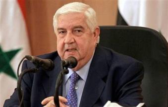 وزير خارجية سوريا: معركتنا ضد الإرهاب لن تتوقف.. وتركيا تحتل أراضينا
