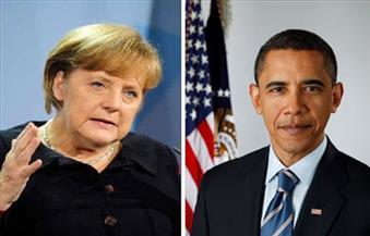 """أوباما وميركل ينددان بـ""""الغارات الوحشية"""" لروسيا والنظام السوري على حلب"""