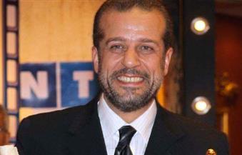 """شريف منير يعزف """"الدرامز"""" بحفل افتتاح القاهرة السينمائي وماجد الكدواني يشكره"""