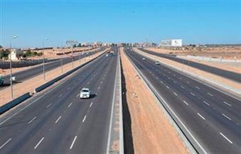 إغلاق طريق الإسكندرية الصحراوي جزئيا لإنشاء كوبرى مشاة بمنطقة مرغم