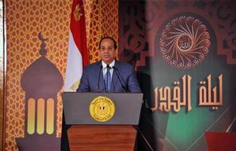 """بعدما كرمه الرئيس في احتفال """"ليلة القدر"""".. طفل كفيف يتبرع بـ5 آلاف جنيه من مكافأته لصالح """"تحيا مصر"""""""