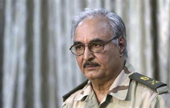 حفتر: مصر في طليعة الدول التي تعمل بأقصى جهدها لتوصل الأطراف الليبية إلى وفاق