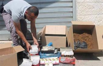 ضبط مشروبات منتهية الصلاحية وجوالي دقيق يحتويان على حشرات بالإسكندرية