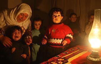 مظاهرة في قطاع غزة احتجاجا على انقطاع الكهرباء