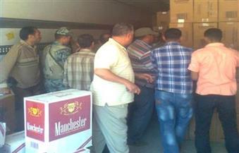 ضبط مشروبات غير صالحة للاستهلاك الآدمي ومنتجات مُهربة في حملة بالإسكندرية