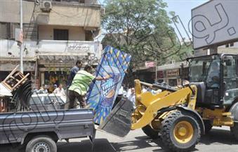 تحرير 35 مخالفة إشغالات عامة في أبوتيج
