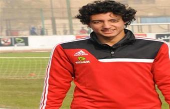 محمد هاني يخضع للفحص الطبي على هامش مران اليوم
